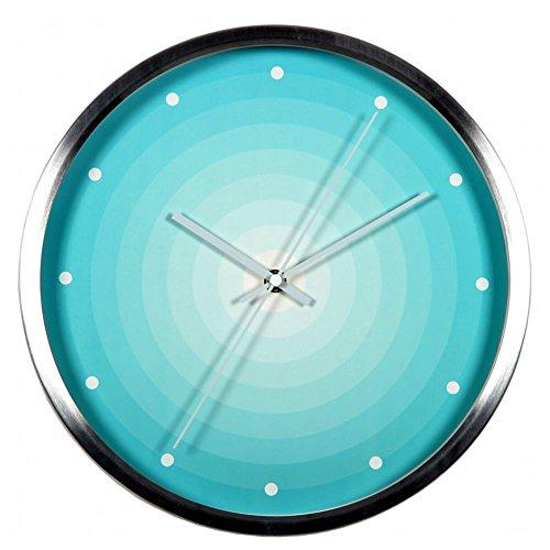 ZIZTIME-Modern Round Wall Clock Fashion Creative Home Decor Contemporary Living Room Wall Clock Mute (Reloj Omega De compare prices)