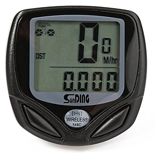 Bicycle Speedometer and Odometer Wireless