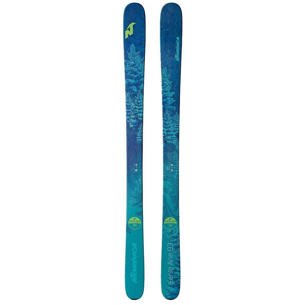 Nordica Santa Ana 93 Ski 2019 - Women's Blue 169 by Nordica