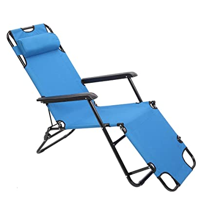 Stupendous Amazon Com Ssline Folding Lounge Chair Portable Patio Pool Caraccident5 Cool Chair Designs And Ideas Caraccident5Info
