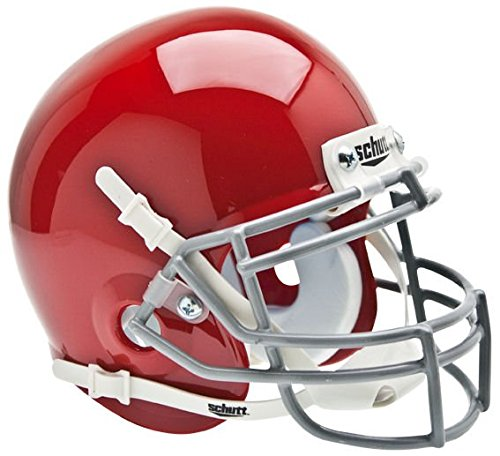 NCAA Ohio State Buckeyes Collectible Alt Mini Helmet, Scarlet (Ncaa Helmet Ohio State)