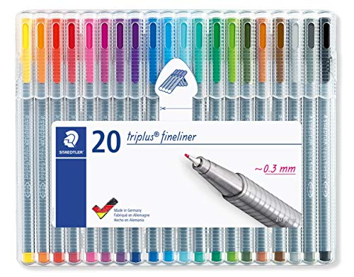 Staedtler-Triplus-Fineliner-Assorted