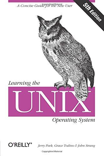 Изучение операционной системы UNIX, пятое издание