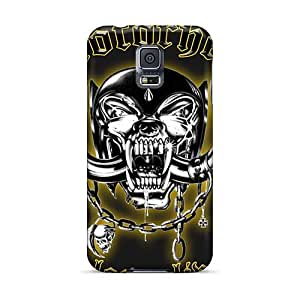 Best Hard Phone Case For Samsung Galaxy S5 With Unique Design Fashion Motorhead Band Pictures SherriFakhry