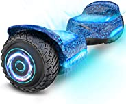 """Gyroor Hoverboard Off Road All Terrian 6.5"""" Two-Wheel G11 Flash LED Light Self Balancing Hoverboards with"""