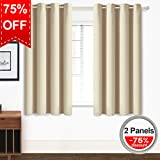 Blackout Curtains Thermal Insulated Grommet Light Blocking Draperies - Best Reviews Guide
