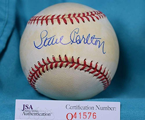 Signed Steve Carlton Baseball - NATIONAL LEAGUE - JSA Certified - Autographed Baseballs (Signed Baseball Carlton Steve)
