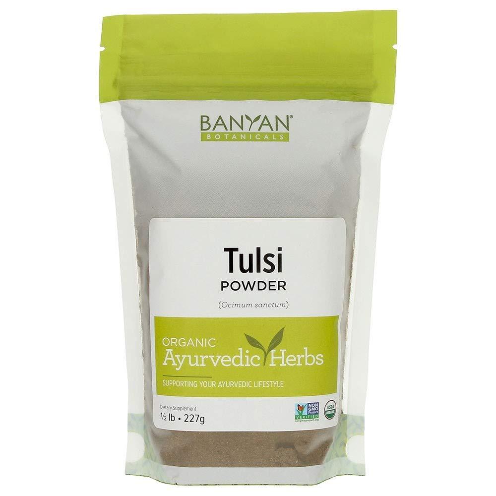 Banyan Botanicals Tulsi Powder, 1/2 Pound - USDA Organic - Ocimum sanctum - Holy Basil - Ayurvedic Adaptogen* by Banyan Botanicals