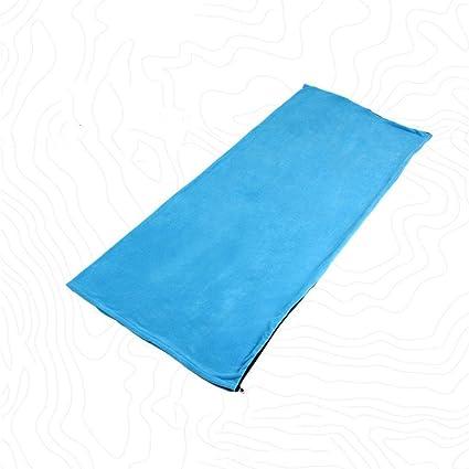 Mengonee Portátil Saco de Dormir al Aire Libre Cubierta Individual para Adultos Primavera otoño Caliente Grueso