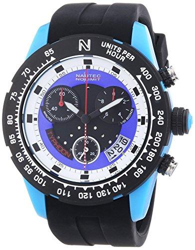 Nautec No Limit TY2 QZ/RBPCBKBL-WH - Men's Watch, plastica, Color: Black