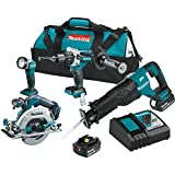 Makita XT448T 5.0 Ah 18V LXT Lithium-Ion Brushless Cordless Combo Kit (4 Piece) Review
