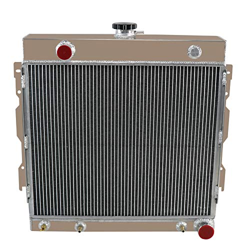 ALLOYWORKS 3 Row Aluminum Radiator For 1975-79 Dodge B/D/W 100 200 300 /Plymouth Truck Pickup Trailduster Ramcharger 5.2L 5.9L V8 76 - Trailduster Truck