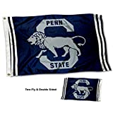 College Flags and Banners Co. Penn State Nittany Lions Vault Throwback Vintage Double Sided Flag