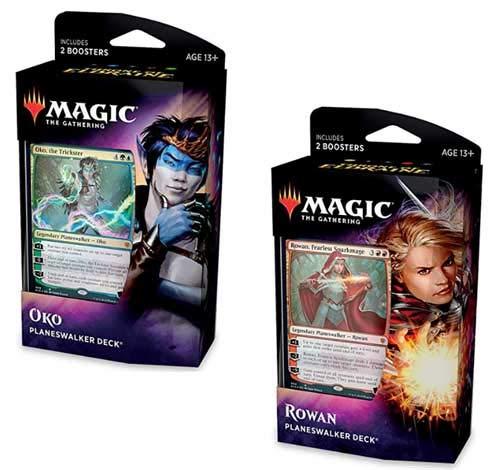 Magic: The Gathering MTG Throne of Eldraine Both Planeswalker Decks by Magic: The Gathering