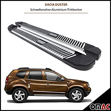 OMAC GmbH Wind and Rain Deflector for Duster II from 2017 4-Piece Black