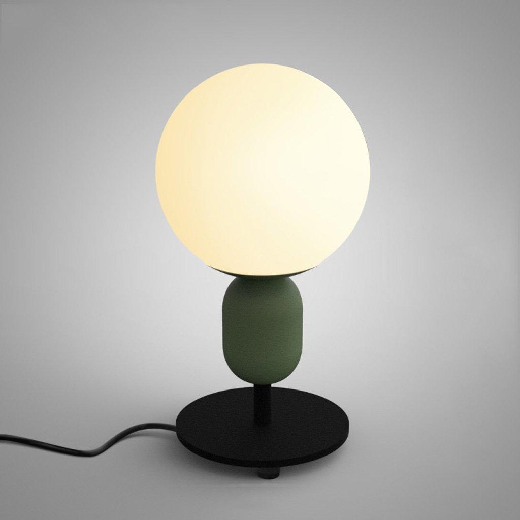 XUE Tischlampe Tischlampe Tischlampe Moderne, einfache, kreative Kinderzimmer Bedside Lampe Schlafzimmer Studie Material Eisen Glas Tisch Lampe E27 B074C7FRY3 | Günstig  69e00a