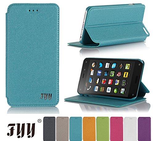 Amazon Fire Phone Case, FYY® Ultra Slim Magnetic Cover Case for Amazon Fire Phone Cyan