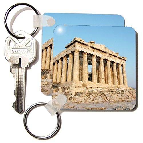 Danita Delimont - Ancient Architecture - Parthenon, Ancient Architecture, Acropolis, Athens, Greece - EU12 PRI0107 - Prisma - Key Chains - set of 2 Key Chains (kc_81845_1)