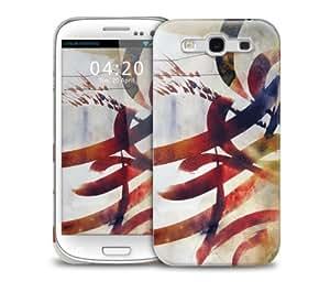 Graffiti Color Big Samsung Galaxy S3 GS3 protective phone case
