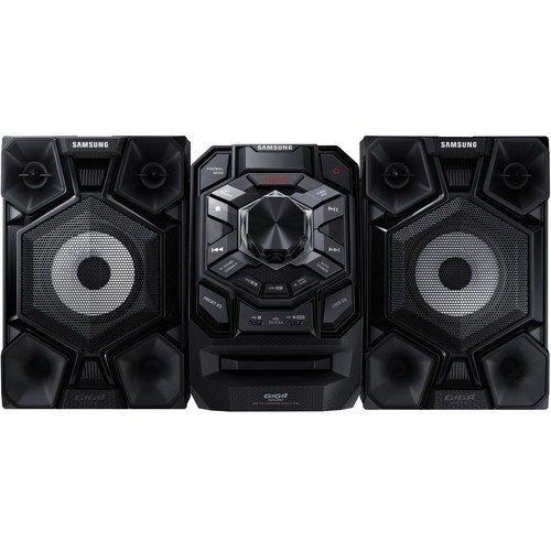 Samsung 230-Watt Bluetooth Hi-Fi Audio Stereo Sound System With Single Disc Cd Player, AM/FM-Radio, Karaoke Capability, Remote Control
