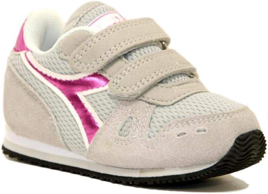 Diadora Simple Run TD Girl - Zapatillas deportivas para niña con correa deportiva 101.175780