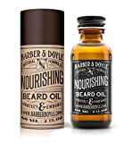 100% Natural Beard Oil & Conditioner Balm For All Beards. Big 2oz Easy Use Bottle. Best Non-Greasy Unscented Lube. Protect & Moisturize for a Healthy Growth. Enhance Your Beard Now with Barber & Doyle