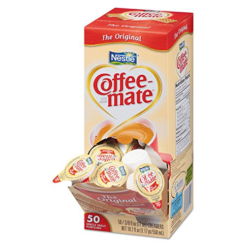 Coffee-mate 35110CT Original Creamer, 0.375 oz., 50 Creamers/Box, 4 Boxes/Carton