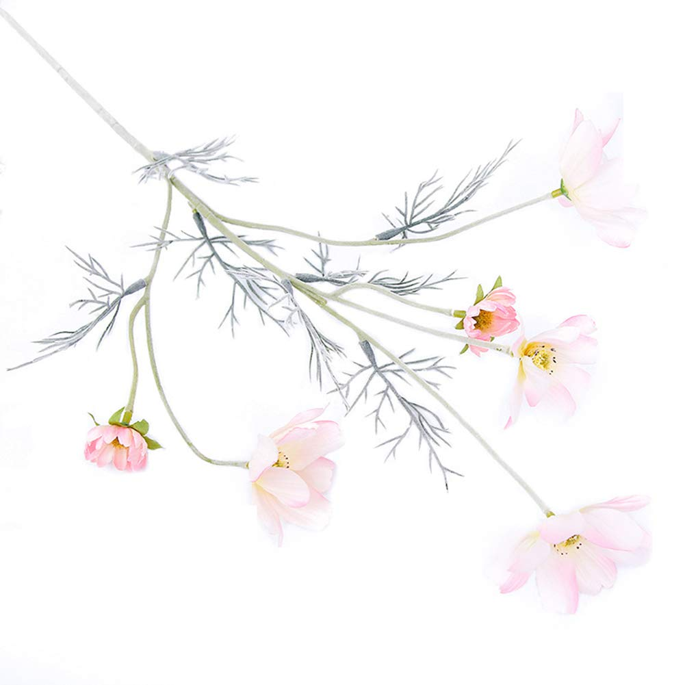 HEART SPEAKER 造花 コスモス フラワー ホームパーティー テーブル センターピース 装飾 1個 ピンク B07GVN3Z3J ピンク