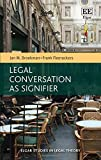img - for Legal Conversation As Signifier (Elgar Studies in Legal Theory) book / textbook / text book