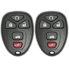 These are 2 Brand New Remote Car Key Fobs that comes complete including batteries. 100% new, never used remote.These are Keyless2Go replacement remote key fobs that will work and function just like the original one. These are complete ...
