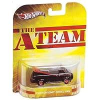 Hot Wheels 2012 Retro Series A-Team Custom GMC Panel Van Die-Cast 1:64 escala