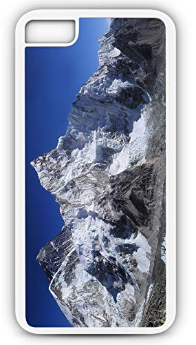 iPhone 7 Plus 7+ Case Mount Everest Himalayas Summit Base Camp Sherpa Mountain Climber Customizable by TYD Designs in White Plastic