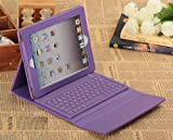 TOP Bluetooth Keyboard folio Case Cover for iPad 2/3/4, Leather Case