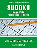 Sudoku Large Print Puzzle Book for Adults: 200