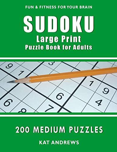 sudoku large print medium buyer's guide for 2019
