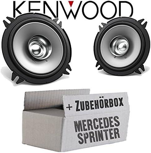 JUST SOUND best choice for caraudio Lautsprecher Boxen Kenwood KFC-S1356-13cm Koax Auto Einbauzubeh/ör Einbauset f/ür Mercedes Sprinter W906 Front
