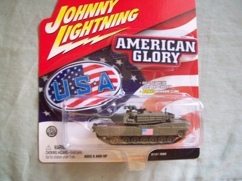 Johnny Lightning American Glory M1A1 Tank by Johnny - M1a1 Tank