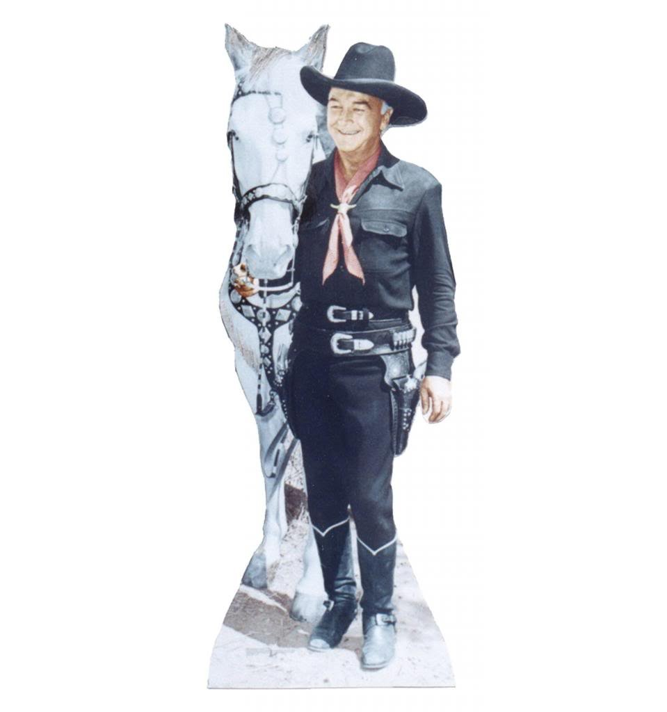 Hopalong Cassidy - Advanced Graphics Life Size Cardboard Standup