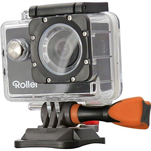 Rollei Actioncam 300, der günstige Einstieg in die Actioncam Welt in HD, inkl Unterwassergehäuse, 140° Super-Weitwinkel-Objektiv, HD Videofunktion 720p - Schwarz