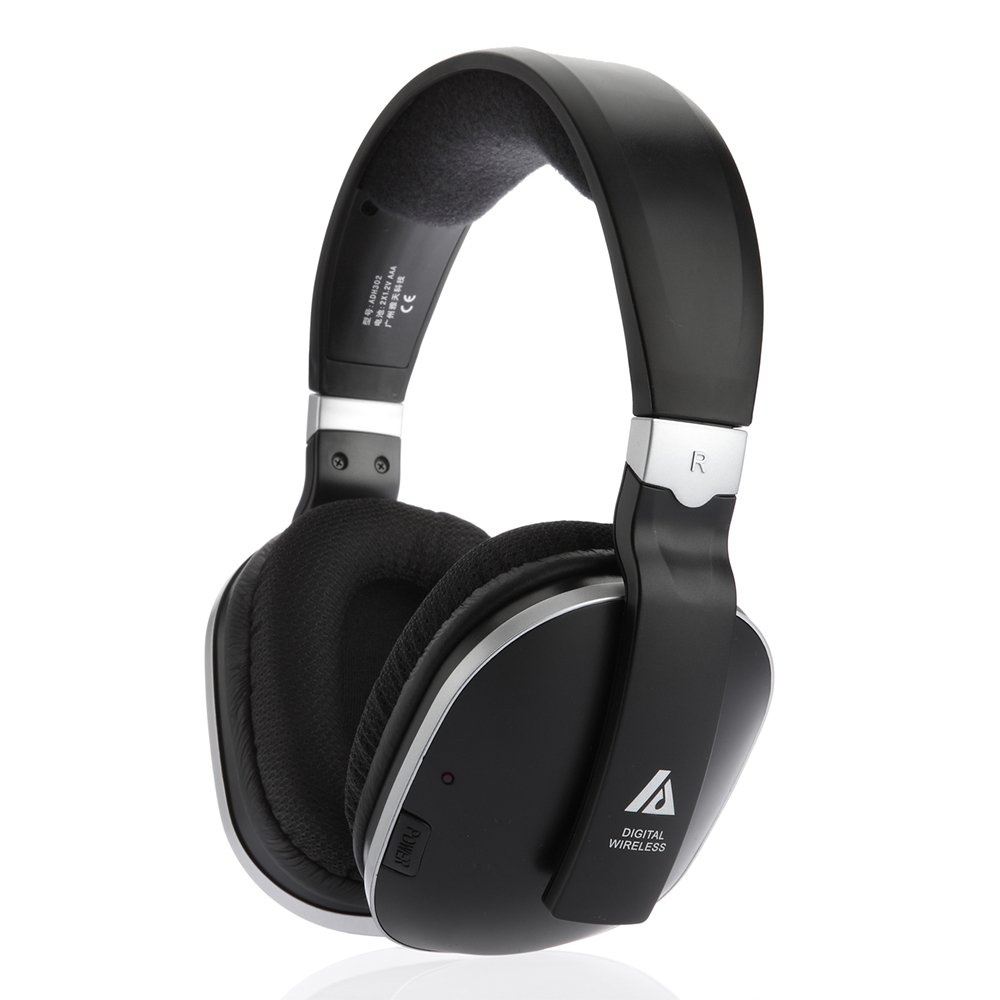 Wireless TV Headphones ADH300 Extra Over-Ear Headphone for TV 100ft Distance by Artiste by ARTISTE