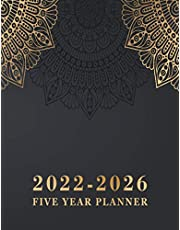 2022-2026 Five Year Planner: 5 year Monthly Calendar Planner January 2022 Up to December 2026 For To do list Organizer And 60 Months Academic Notebook Agenda Schedule for time management Mandala Cover (5 year planner 2022-2026 monthly)