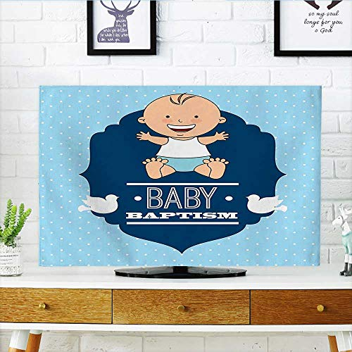 Used, Auraisehome Protect Your TV Baptism Laughing Baby Boy for sale  Delivered anywhere in USA