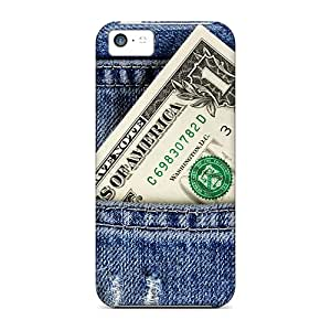KANTd13480KtEVT ArtCart One Dollar Bill Feeling Iphone 5c On Your Style Birthday Gift Cover Case