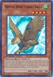 Yu-Gi-Oh! - Crystal Beast Cobalt Eagle (RYMP-EN045) - Ra Yellow Mega-Pack - 1st Edition - Super Rare