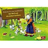 Kamishibai Bildkartenset Der Wolf und die 7 Geißlein - Bildkarten für unser Erzähltheater
