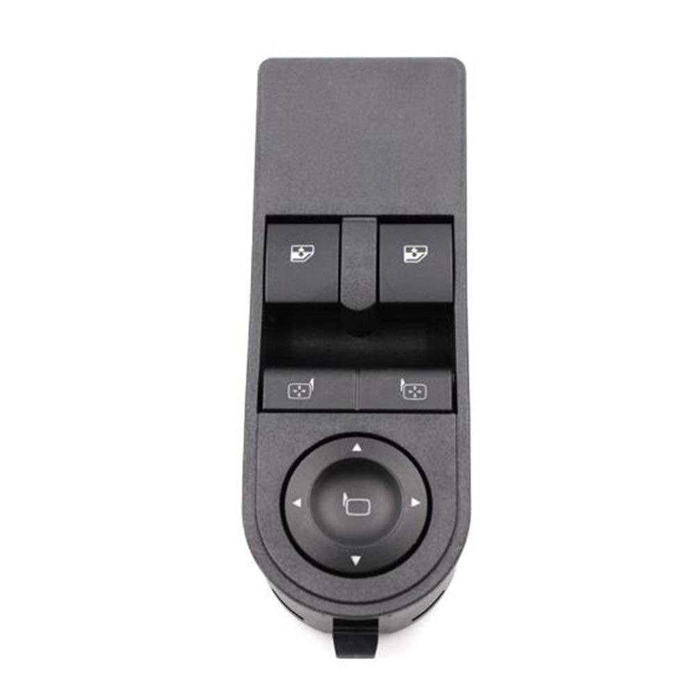 Vorne Links Fahrerseite Elektrische Schalter Auto-Fenster-Taste 13228879 F/ür Opel Astra H /& Zafira-B Lanceasy Fenster-Schalter