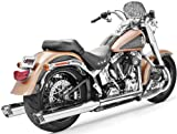 Freedom HD00310 Exhaust (3 1/4'' Racing Slip Chr/Chrome Tip Softail),1 Pack