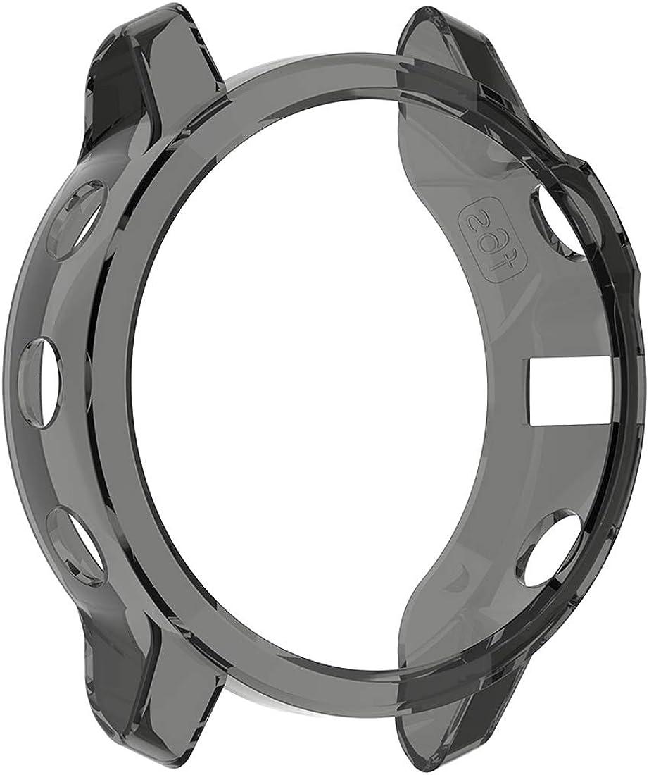 YASPARK Bezel Styling Coque pour Fenix 6 /Étui Protecteur Diverses Couleurs Anti-Rayures Housse de Acier Inoxydable Protection pour Montre Fenix 6 Pro//Fenix 6