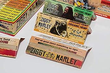Amazon com: Ziggy Marley Organic Hemp Rolling Papers 1 1/4