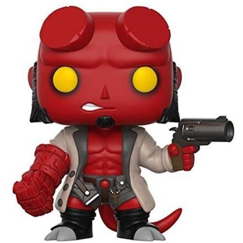 Funko Pop Comics: Hellboy No Horns Collectible Vinyl Figure (styles may vary)